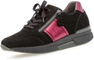 Gabor rollingsoft sensitive 36.928.87 women walking - black red