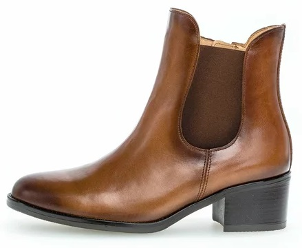 Gabor 51.650.22 Women Ankle Boots - Brown whiskey