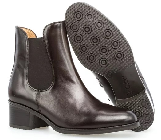 Gabor 51.650.28 Women Ankle Boots - Dark Brown