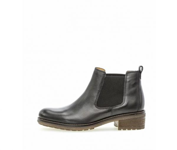 Gabor ankle boots 51.610.37 Black Leather