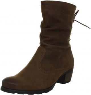 Gabor medium boots 56.604.25 brown nubuck
