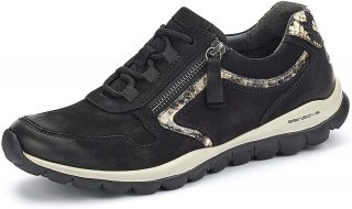 Gabor rollingsoft sensitive 56.964.67 women walking shoes - black