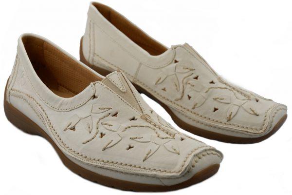 Gabor slip-on 62.505.20 vanille white leather
