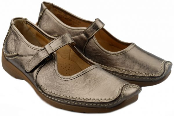 Gabor 62.508.90 silver leather