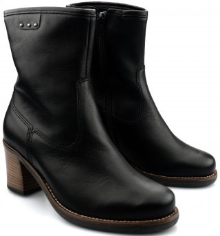 Gabor ankle boots 92.814.61 black leather