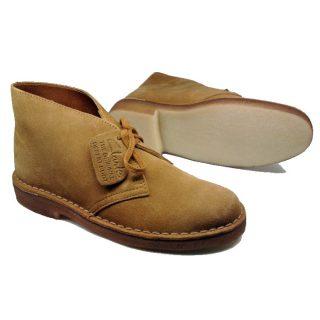 Clarks Originals ankle boots DESERT BOOT cognac suede WOMEN