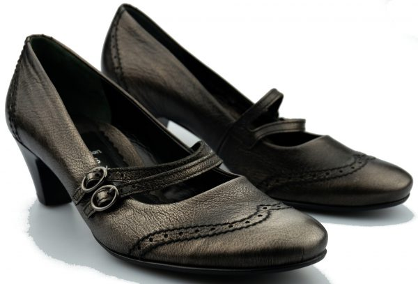 Gabor pumps 72.179.39 anthracite leather