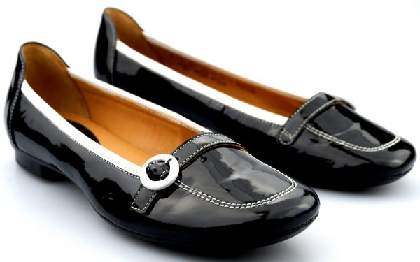 Gabor ballerina 64.116.90 black patent leather
