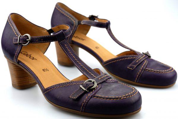 Gabor 01.482.53 purple pump for women