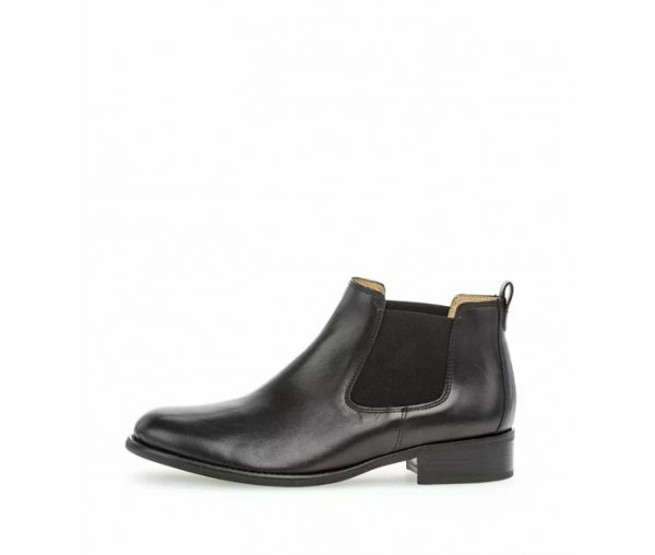 Gabor ankle boots 51.640.27 Black Leather