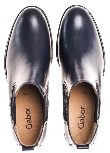 Gabor ankle boots 51.640.56 Blue Leather