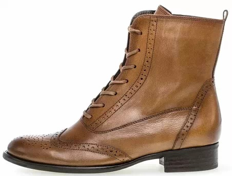 Gabor ankle boot 51.642.22 brown leather