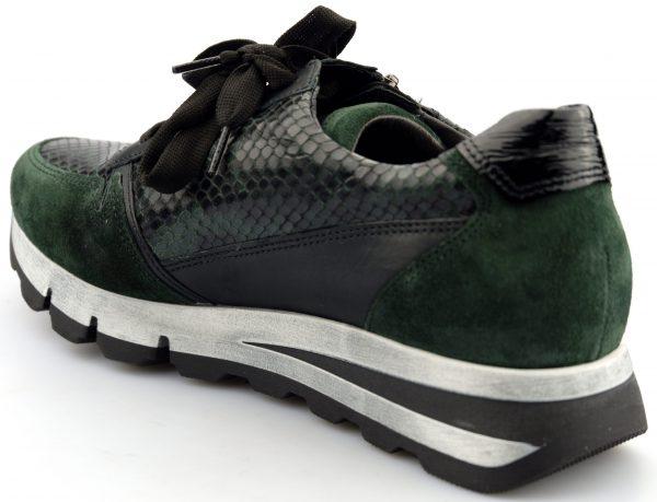 Gabor 56.358.83 Women Sneaker - Green suede/leather