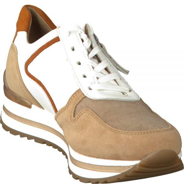 Gabor 56.526.40 Women Sneaker - White/brown