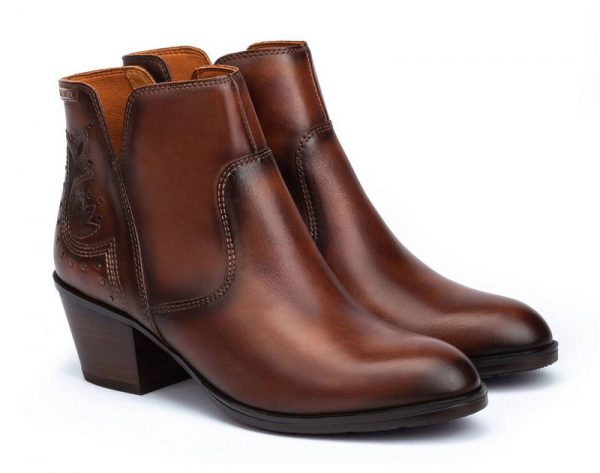 Pikolinos W4T-8676 Women Ankle Boots - Brown