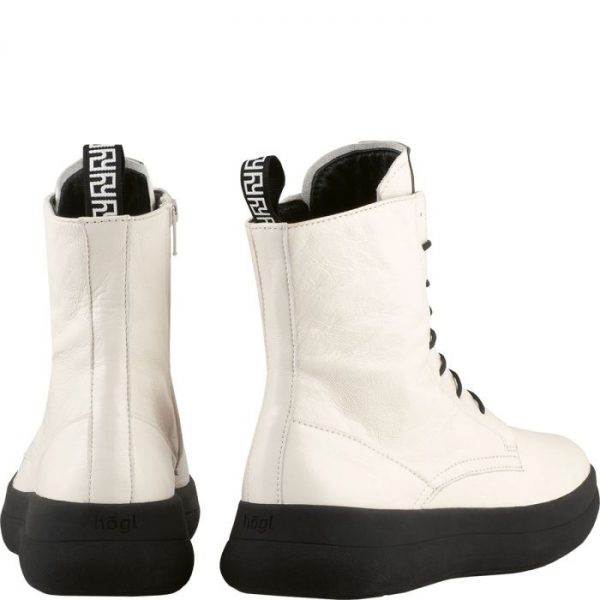 Högl ankle boots Newton 0-104425-0400 white patent leather