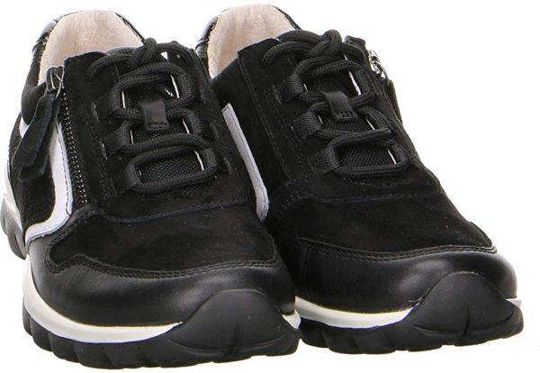 Gabor rollingsoft sensitive 56.964.47 women walking shoes - black