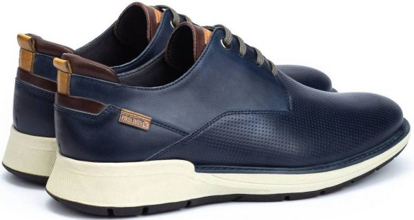 Pikolinos BUSOT M7S-4388 Leather Lace-up Shoe for Men - Blue