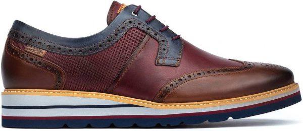 Pikolinos DURCAL M8P-4009C1 Leather Lace-up Shoe for Men - Cuero