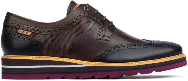 Pikolinos DURCAL M8P-4009C1 Leather Lace-up Shoe for Men - Black