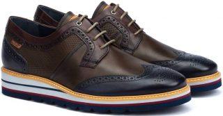 Pikolinos DURCAL M8P-4009C1 Leather Lace-up Shoe for Men - Blue