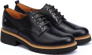 Pikolinos VICAR W0V-4991  Leather Lace-up Shoe for Women - Black