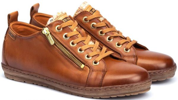 Pikolinos LAGOS 901-6536 Leather Lace-up Shoe for Women - Brandy