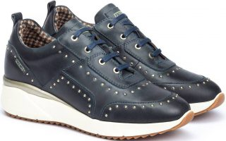 Pikolinos SELLA W6Z-6806 Leather Sneaker for Women - Moon Ocean
