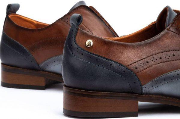 Pikolinos W4D-3510C1 Leather Oxford Shoe for Women - Moon-Ocean