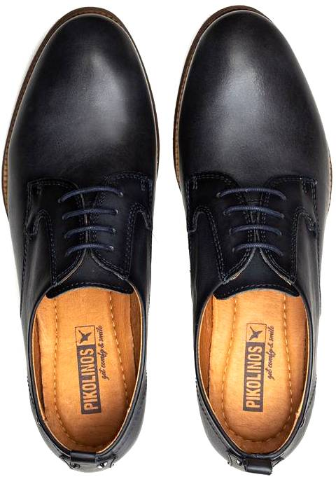 Pikolinos W4D-4723 Leather Lace Shoe for Women - Moon-Ocean