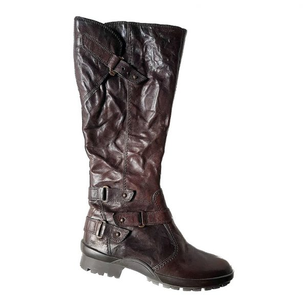 Gabor 73.830.28 long women boots - brown